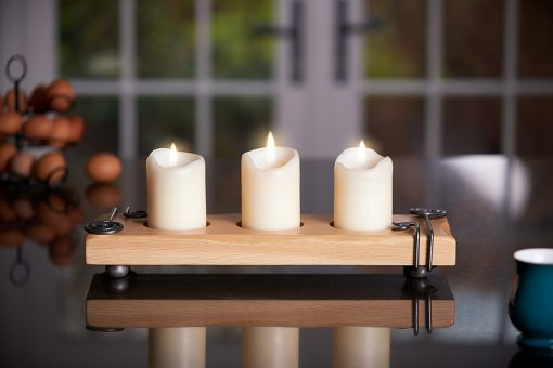 Rochester 3 candle display